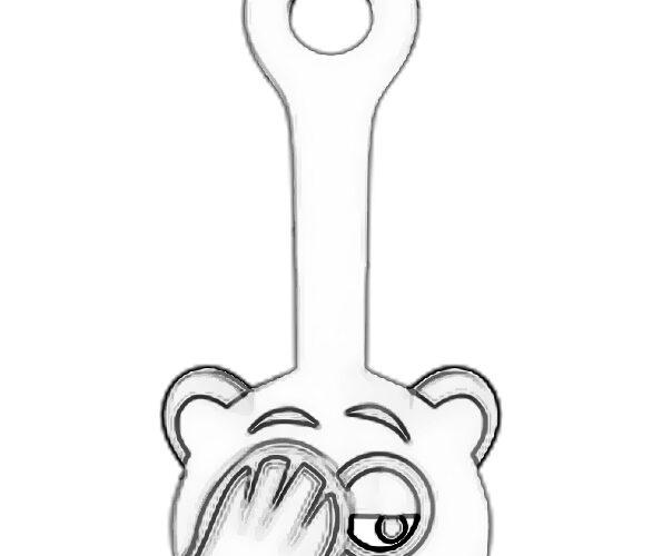 Мишка Рукалицошич раскраска скрепышей 2 из Магнита 2020 года